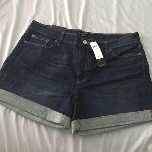 NWT! Banana Republic Jean shorts